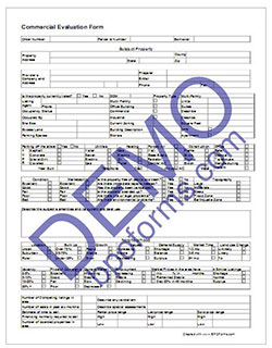 Commercial BPO Form